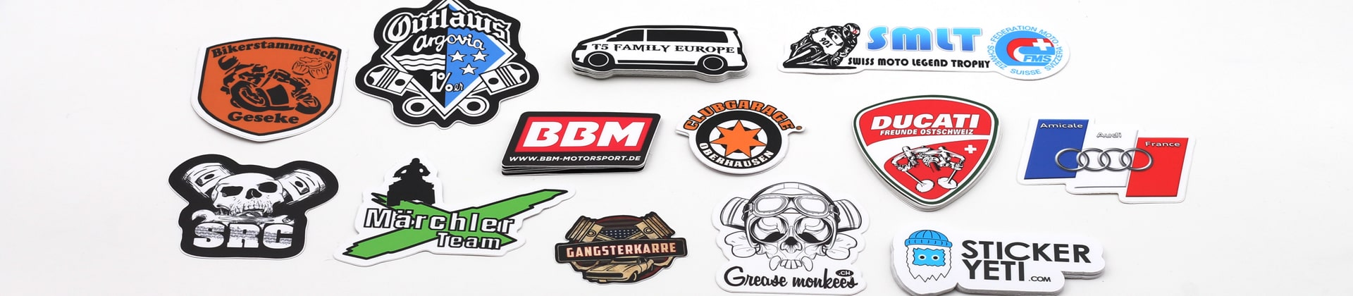 Shop high quality company logo stickers, product stickers, quickly print online startup stickers