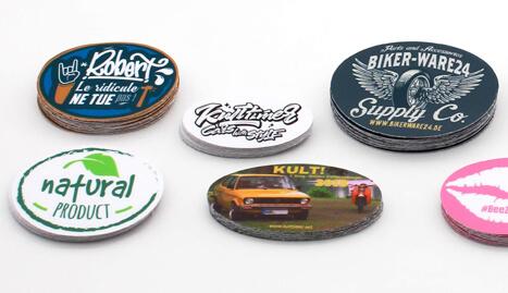 Stickeryeti: Autocollants ronds personnalises et stickers sur mesure