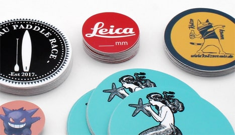 Stickeryeti: Autocollants ronds personnalises et stickers sur mesure