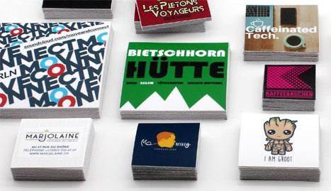 Stickeryeti: Autocollants rectangulaires personnalisés et stickers sur mesure